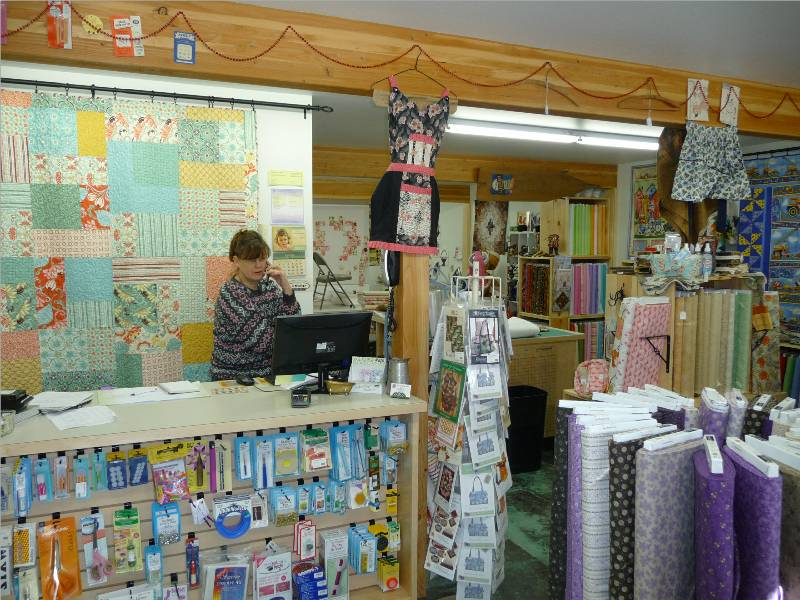 Twisp WA Quilting Hive Fabric Shop